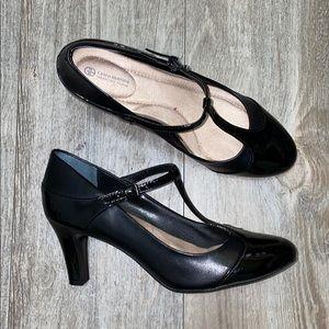 Gianni Bernini Vineza Leather Mary Jane Pumps